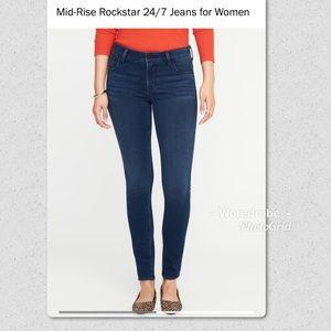 🆕🆙 Old Navy 24/7 Rockstar Jeans